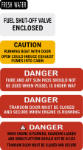 Sea Ray safety labels