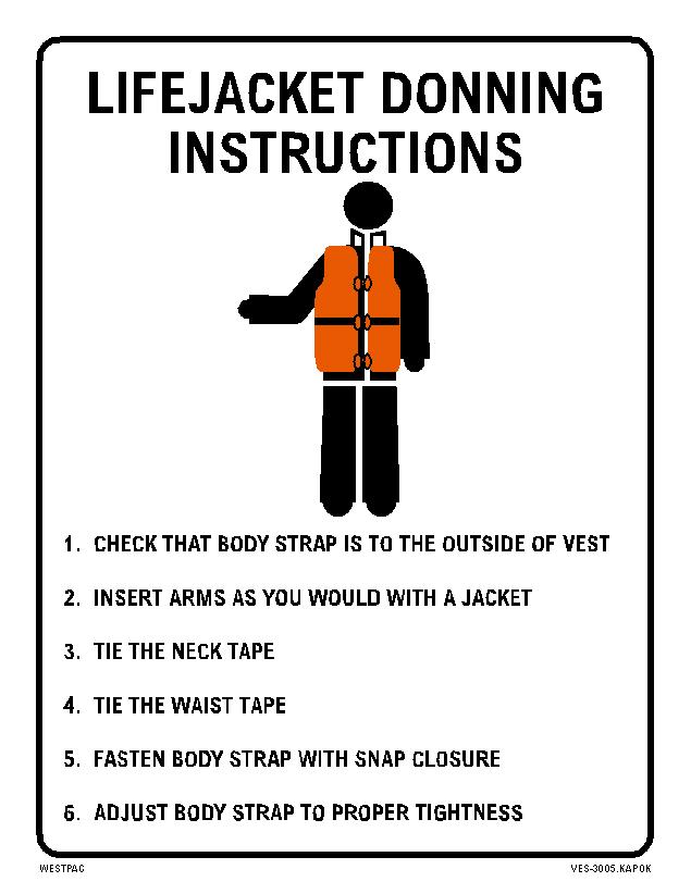 Vinyl Safety Signs Westpac